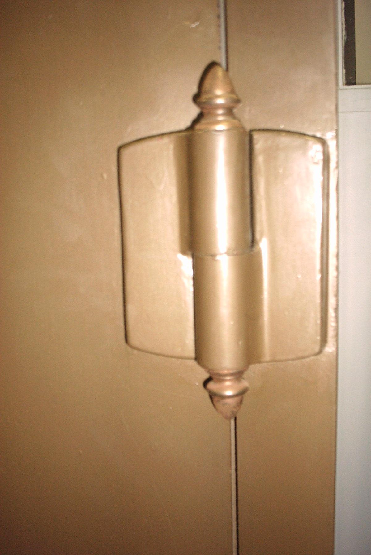 york safe. antique 01 02 hinge york safe